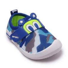 Blue Camouflage Print Sneakers for Rs. 399
