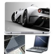Buy Finearts Laptop Skin 15.6 Inch With Key Guard & Screen Protector - Car Back from ShopClues