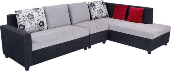 Buy Bharat Lifestyle Nano Fabric 6 Seater Standard  (Finish Color - Black Grey) for Rs. 22,352