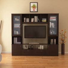 HomeTown Missouri Engineered Wood TV Entertainment Unit(Finish Color - Walnut) for Rs. 13,198