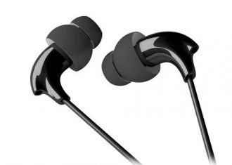 Soundbot SB305 Sports Headphones with Mic (Black) for Rs. 699