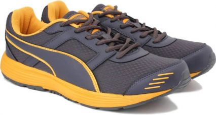Flat 42% off on Puma Harbour Fashion DP Running Shoes  (Grey)