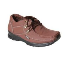 Leather Soft Genuine Leather Casual Tan Shoes - (code -ls-k2-tan) for Rs. 699