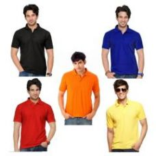 Flat 79% off on A Pack Of Five Lime Polo Tshirts_avt115