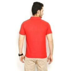 Flat 75% off on Lime Offers Combo of 5 Men's Polo T-Shirts, l, multicolor