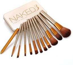 Flat 84% off on Smart Urban Decay Naked3 Makeup Brush Set  (Pack of 12)