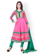Buy Unstitched Dress material from Myntra
