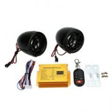 Flat 35% off on Autostark Anti Theft Alarm & Audio System Mp3 With Fm Dual Speaker Function For Tvs Jupiter