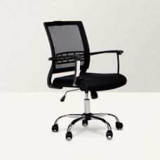 Titus Medium Back Mesh Office Chair Black for Rs. 5,990