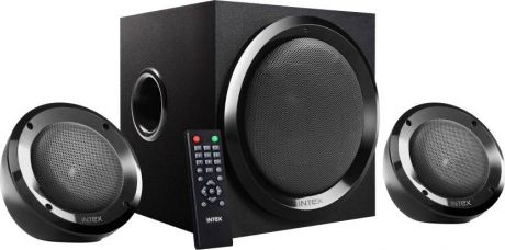 Get 41% off on Intex IT-2202 SUF Portable Mobile/Tablet Speaker  (Black, 2.1 Channel)