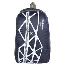 SASSIE Polyester 21Litres Blue School Backpack for Rs. 299