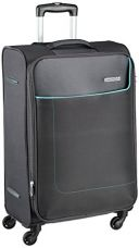 Buy American Tourister Jamaica Polyester 58 cms Grey Softsided Carry-On (27O (0) 08 001) from Amazon