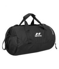 Buy Nivia Black Small Polyester Gym Bag from SnapDeal