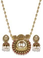 Buy Stone-Studded Jewellery Set for Rs. 435