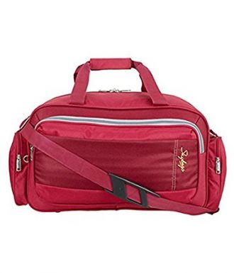 Buy Skybags Cardiff Polyester 55 cms Red Travel Duffle (DFCAR55RED) from Amazon