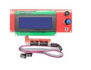 2004 LCD Display Smart Controller W/ Adapter For RAMPS1.4 Reprap 3D Printer for Rs. 799