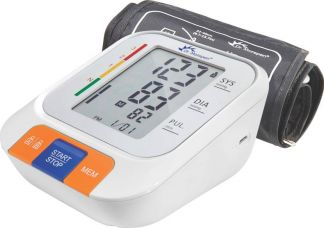 Flat 61% off on Dr. Morepen BP-15 BPOne Bp Monitor  (White)