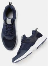 Flat 40% off on Navy Blue Running Shoes