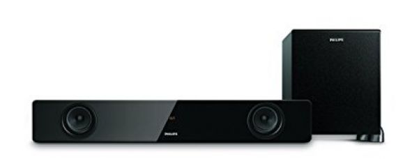 Philips HTL1041/94 2.1 Channel Wired Subwoofer Bluetooth FM Tuner (Black) for Rs. 11,940