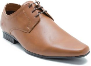 Flat 55% off on Bond Street By Red Tape Men Formal Lace Up  (Tan)
