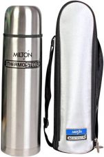 Buy Milton Thermosteel 1000 ml Flask  (Pack of 1, Silver) from flipkart