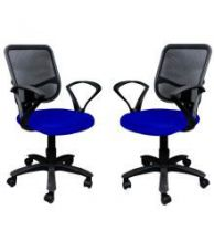 Buy Buy 1 Office Chair Get 1 Free in Blue from SnapDeal