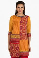 Buy X FUSION BEATSWomens Slim Fit Printed Kurti    FUSION BEATS Womens Slim Fit Printed Kurti    ...       Rs 2999 Rs 600  (80% Off)         Size: M from ShoppersStop
