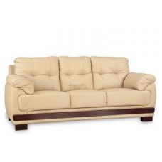 Buy Gilbert Half Leather Three Seater Sofa for Rs. 54,900