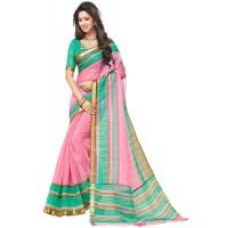 Get 80% off on Meia Multicolor Mysore Art Silk Printed Saree With Blouse