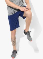 Flat 40% off on Puma Vent Stretch Woven Navy Blue Shorts
