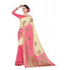 Buy Meia Multicolor Mysore Art Silk Printed Saree With Blouse from ShopClues