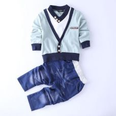 Buy Trendy Green T-Shirt And Pant Set from Hopscotch