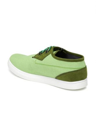 Flat 75% off on Roadster Sneakers  (Green)