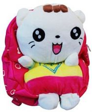 Flat 22% off on Abracadabra Soft Toy Bag With 3D Pop-up Yellow Pink -...