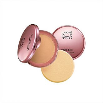 Buy Lakme 9 to 5 Primer with Matte Powder Foundation Compact, Silky Golden, 9g from Amazon