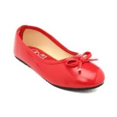 Buy Red Ballerinas With Bow-Knot from Hopscotch