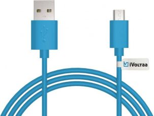 Buy iVoltaa iVFK1 Sync & Charge Cable  (Black) from Flipkart