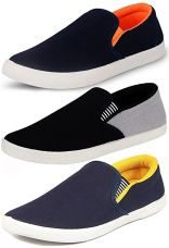 Buy Ethics Perfect Combo Pack of 3 Stylish Premium Loafer Shoes for Men from Amazon