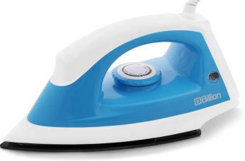 Flat 57% off on Billion 1100 W Non-stick XR112 Dry Iron  (White and Sky Blue)