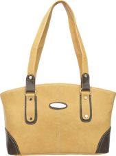 Flat 74% off on FD Fashion Hand-held Bag  (Beige)