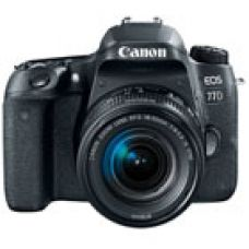 Canon EOS 77D Kit (EF-S18-55 IS STM) DSLR Camera for Rs. 63,900