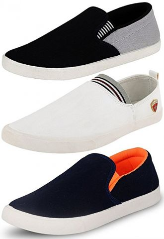 Buy Ethics Perfect Combo Pack of 3 Premium Loafer Shoes for Men from Amazon