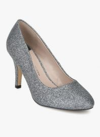 Buy Dorothy Perkins Claudia Silver Glitters Stilettos for Rs. 1211