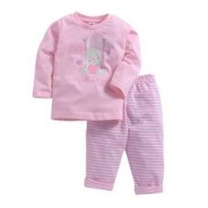 Let Me Play Swing Print Pink T-Shirt and Pant Set for Rs. 245