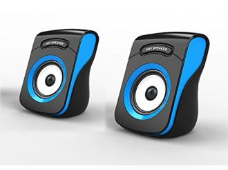 Buy Havit HV-SK599 2.0 Channel PC Speakers (Black/Blue) from Amazon