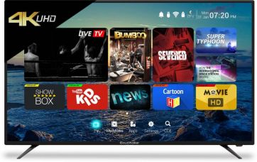 Buy CloudWalker Cloud TV 139cm (55 inch) Ultra HD (4K) LED Smart TV  (CLOUD TV 55SU) for Rs. 40,999