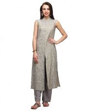 Buy Baswada zari work kurta from Amazon