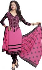 Buy Drapes Crepe Printed Salwar Suit Dupatta Material  (Un-stitched) from Flipkart