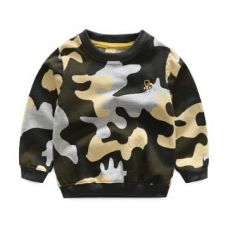 Green Camouflage Print Sweatshirt for Rs. 649