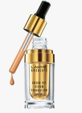 Buy Lakme Natural Almond Absolute Argan Oil Serum Foundation With Spf 45 from Jabong